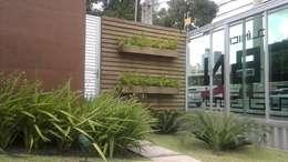 Marcos Assmar Arquitetura | Paisagismo: tropikal tarz tarz Bahçe
