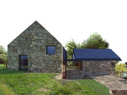 Casas de estilo rústico por Davide Domingues Arquitecto