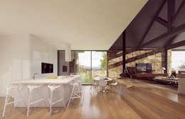 rustieke & brocante Keuken door Davide Domingues Arquitecto