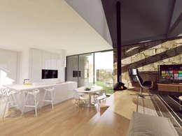 Comedores de estilo rústico por Davide Domingues Arquitecto