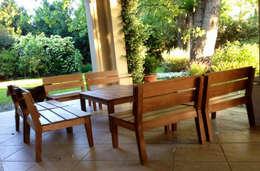Proyectos varios: Jardines de invierno de estilo moderno por Carolina biercamp