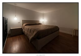GINO SPERA ARCHITETTO의  침실