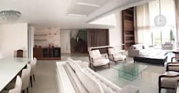 Гостиная в . Автор – Duplex Interiores