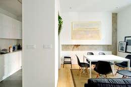Comedores de estilo moderno por Garmendia Cordero arquitectos