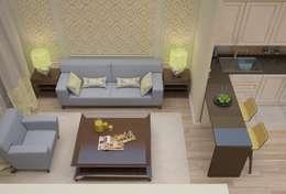 Salon de style de style Classique par Decor&Design