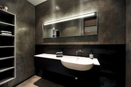 minimalistic Bathroom by badconcepte