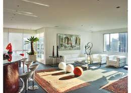 Salas de estar modernas por Elisabete Primati Arquitetura