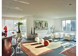Apto Al. Campinas: Salas de estar modernas por Elisabete Primati Arquitetura