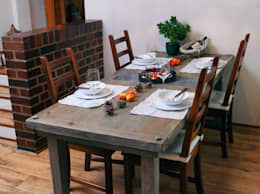 Comedor de estilo  por Holzkunst Dupré