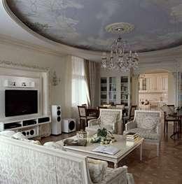 Salon de style de style Classique par Архитектор Татьяна Стащук