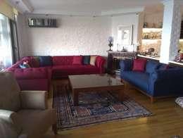 Koltuk Home – chester köşe koltuk : klasik tarz tarz Oturma Odası