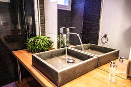 Rénovation d'une salle de Bains: Salle de bains de style  par MB Architecte