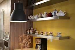 eclectic Kitchen by Lo Interior
