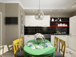 eclectic Kitchen by EEDS design