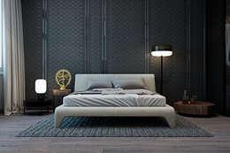 Recámaras de estilo minimalista por Diff.Studio