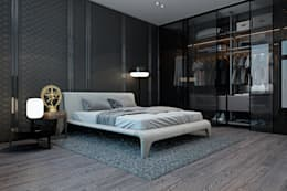 Cuartos de estilo minimalista por Diff.Studio