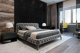 minimalistic Bedroom by Diff.Studio