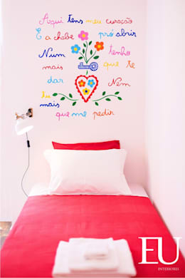 ห้องนอนเด็ก by EU INTERIORES