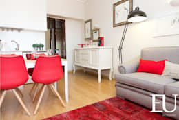 Ruang Keluarga by EU INTERIORES