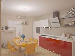 Cozinhas modernas por Arch. Sorbo