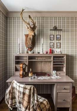 Квартира на ул. Есенина: Рабочие кабинеты в . Автор – Belimov-Gushchin Andrey