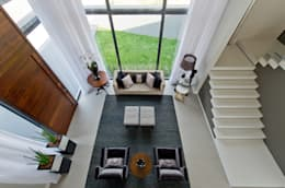 Salas de estar modernas por Espaço do Traço arquitetura