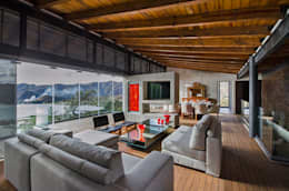 country Living room by BURO ARQUITECTURA