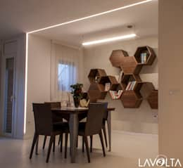 modern Dining room by Lavolta