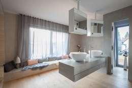 modern Bathroom by BESPOKE GmbH // Interior Design & Production