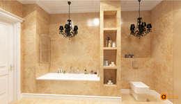 Baños de estilo  por Art-i-Chok