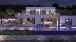 Projekty, nowoczesne Domy zaprojektowane przez Atlant de Vent
