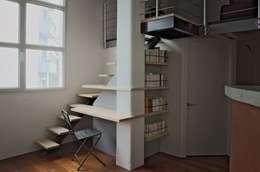 industrial Corridor, hallway & stairs by Thibaut Defrance - Cabestan