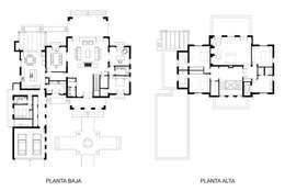 Casa Byrnes:  de estilo  por Aulet & Yaregui Arquitectos