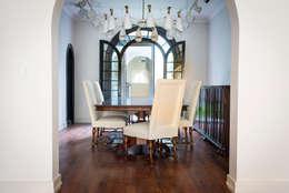 CASA EN HIPÓDROMO CONDESA: Comedores de estilo moderno por TW/A Architectural Group