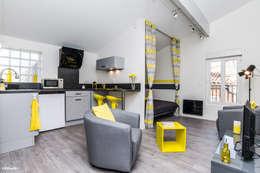 غرفة المعيشة تنفيذ Pixcity