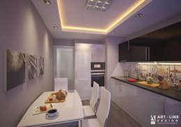 Cocina de estilo  por Арт-лайн дизайн