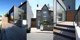 Extension & rénovation d'une maison à Brest: Maisons de style de style Moderne par Trace & Associes architecture