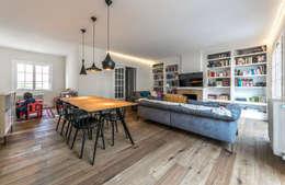 ห้องนั่งเล่น by 08023 Architects