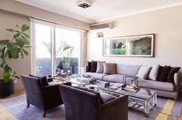 modern Living room by ezequielabad