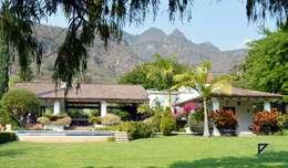 Projekty,  Ogród zaprojektowane przez De Ovando Arquitectos