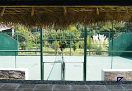 Projekty,  Taras zaprojektowane przez De Ovando Arquitectos