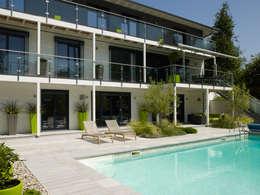 Projekty,  Basen zaprojektowane przez Baufritz (UK) Ltd.