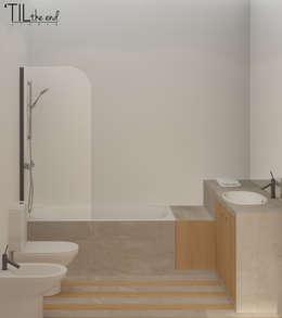 Baños de estilo  por Lagom studio