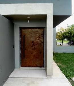 Vivienda DLB - Tejas 2 (proyecto y obra): Casas de estilo moderno por ANDA arquitectos
