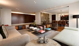 modern Living room by Hansi Arquitectura