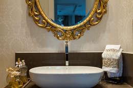 Baños de estilo moderno de Martins Valente Arquitetura e Interiores