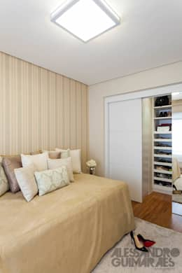 Dormitorios de estilo moderno de Martins Valente Arquitetura e Interiores