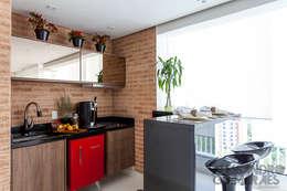 Projekty,  Balkon, weranda i taras zaprojektowane przez Martins Valente Arquitetura e Interiores