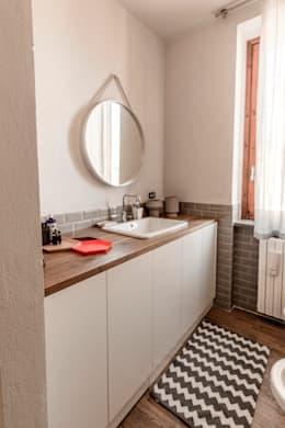 scandinavian Bathroom by Galleria del Vento