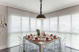 Comedor de estilo  por Martins Valente Arquitetura e Interiores